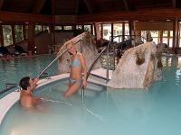 Thermal pool in Danubius Health Spa Resort Heviz - wellness hotel in Heviz