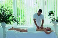 Medical massage in Danubius Health Spa Resort Heviz at Lake Heviz