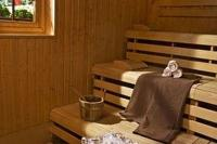Sauna at Lake Heviz in Hotel Danubius Health Spa Resort Heviz