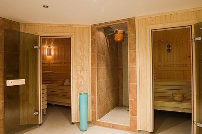 Sauna with wellness treatments in Hotel Palace Palota in Heviz - Hotel Palace**** Hévíz - wellness hotel at Lake Heviz