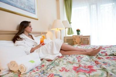 Hotel Fit Heviz Spa Wellness Hotel in Heviz - double rooms and apartments with panoramic view to the countryside at discounted prices  - Hotel Fit*** Heviz - Thermal Hotel Fit affordable wellness hotel in Heviz with halfboard packages